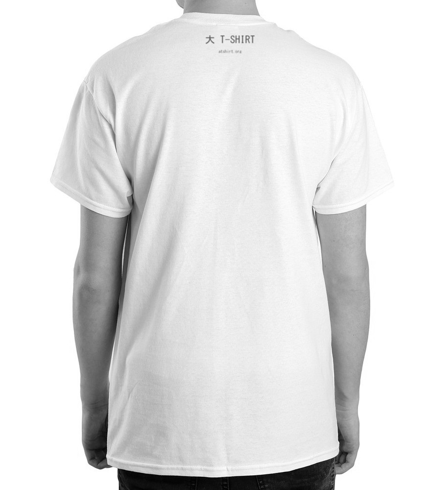 T shirt men back